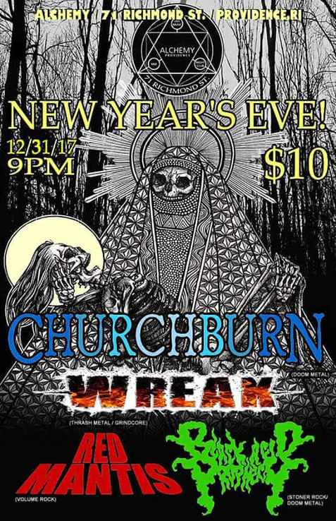 New Year's Eve @ Alchemy - RI Free Radio